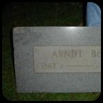 Arndt Boe Tombstone