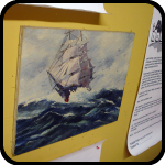 Paint By Number Ship Painting, An Item in bARTer Sauce