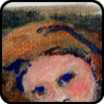 Creepy Angel Trading Card - An Item in bARTer Sauce