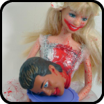 Wedding Day Disaster Barbie, An Item in bARTer Sauce