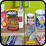 trompe L'oeil 7' pantry doors by Kelly Lyles