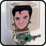 Elvis T-shirt Stand, An Item in bARTer Sauce