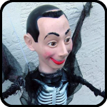 Pee Wee Herman Skeleton