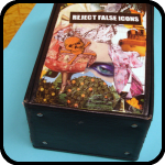 Decoupage tape box from Jessamy: An Item in bARTer Sauce