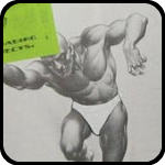 bARTer Sauce Trader: Victor - with the Figure Drawing Book